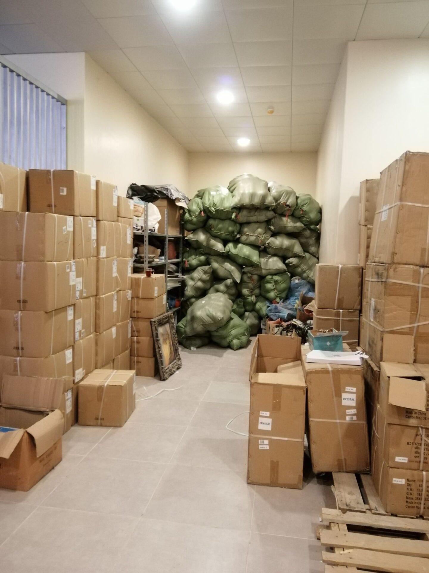 شركة تخزين بضائع